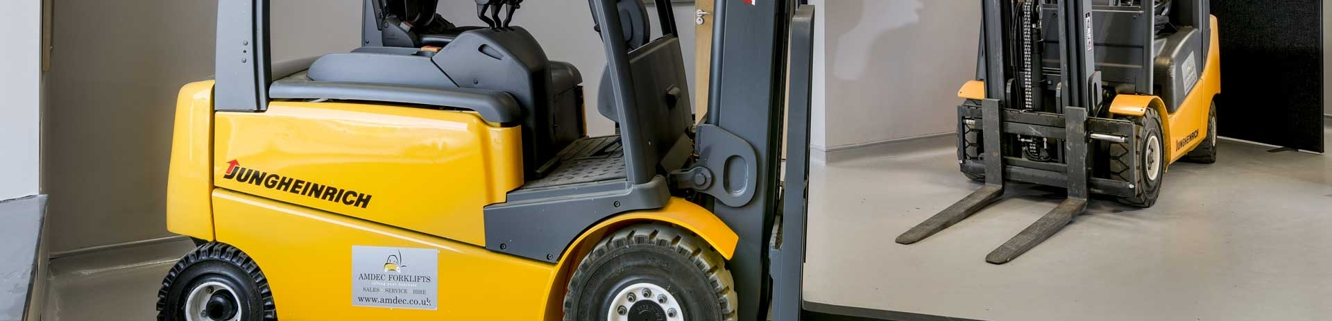 Warning Fork lift Trucks Signs