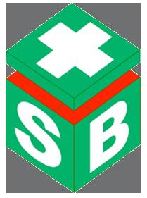 First Aider Enamel Badge 25x25mm