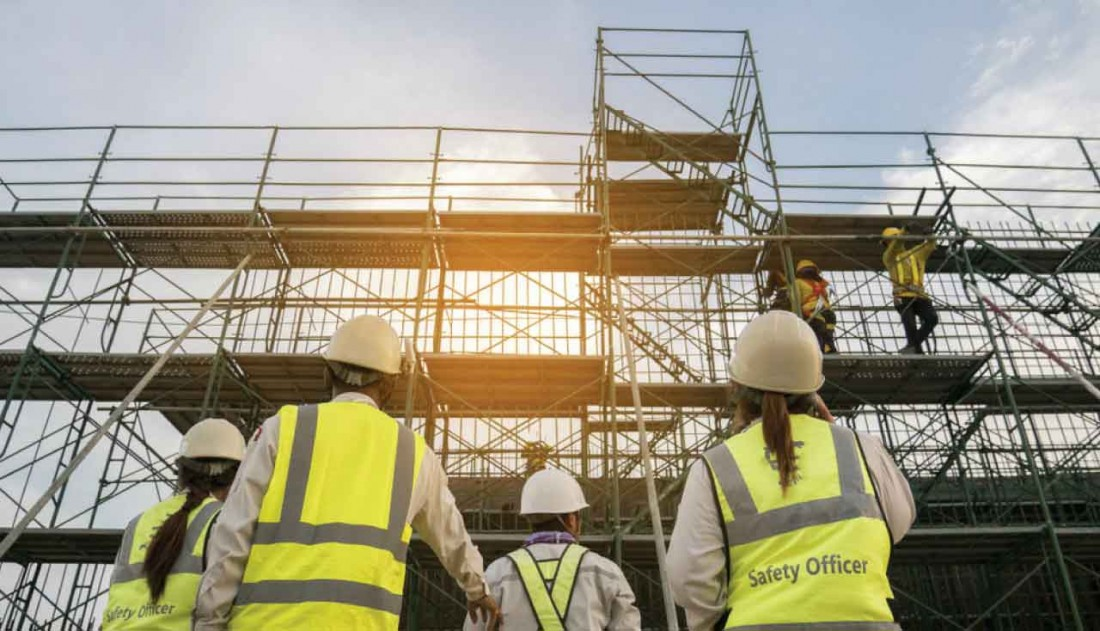 Your Guide To Working With Scaffolding
